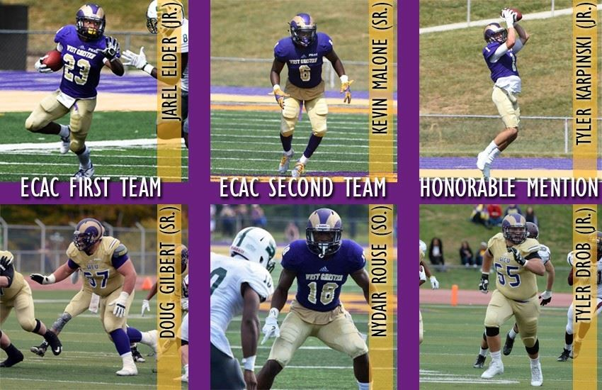 buy online c45d1 1bc1b Football Scores Six Players on All-ECAC Team - West Chester ...