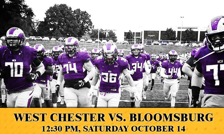 West Chester Football Game Against Bloomsburg To Air On Sportsfever
