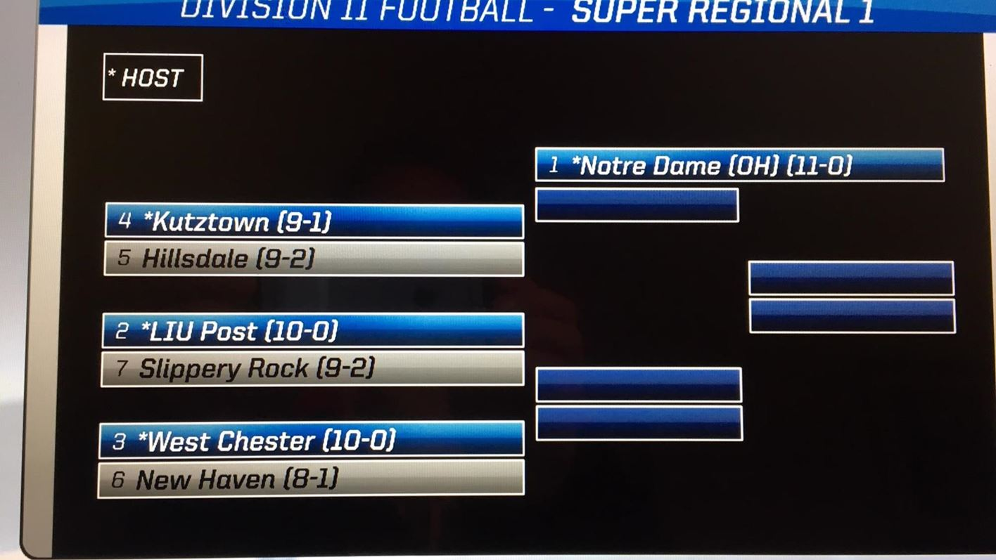 15721fced9200 No. 9 West Chester Hosts New Haven In First Round Of NCAA Tournament ...
