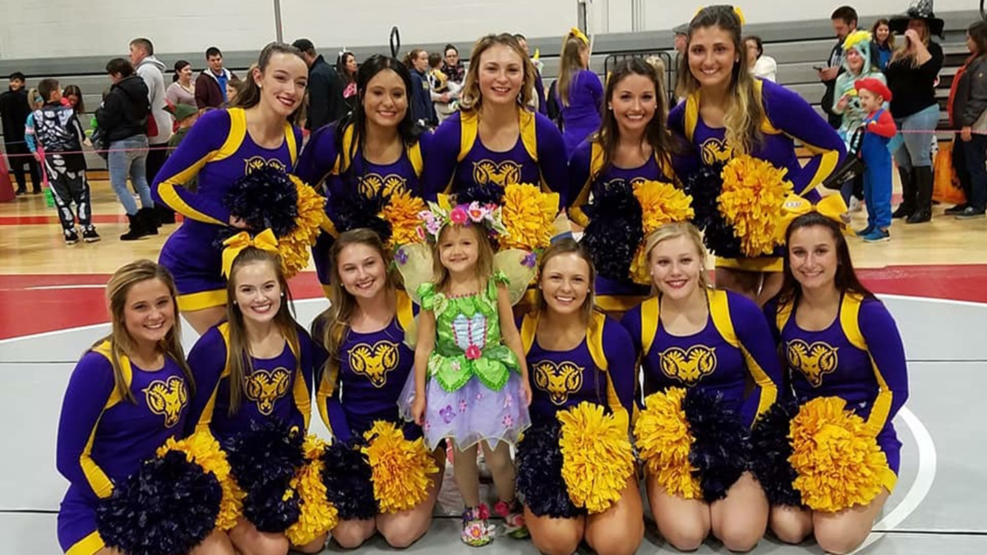 cheerleading west chester university athletics