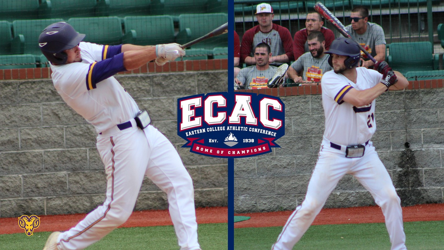 melone and dressler named first team all ecac melone player of the