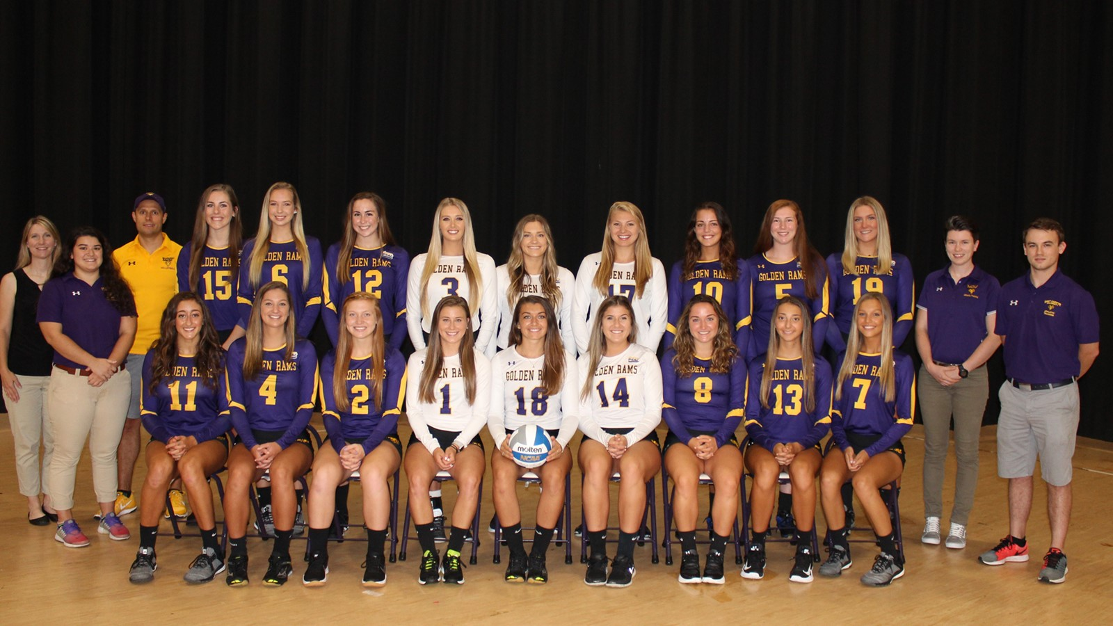 2018 women s volleyball roster west chester university athletics